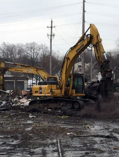 Eslich Wrecking Company Demolition and Wrecking Services